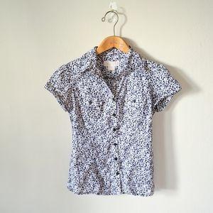 Michael Kors Floral Prairie Farmcore Shirt